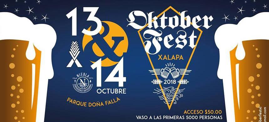"""Este sábado arranca """"Oktoberfest 2018"""" en Xalapa"""