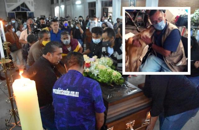 Dan último adiós en Ixtac al reportero Jacinto Romero