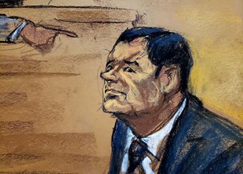 El juicio de El Chapo dictará suerte de El Mayo Zamabada