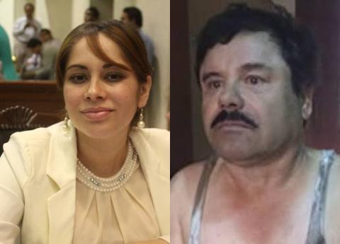 """Rompe en llanto ex diputada y narra romance con """"El Chapo"""""""