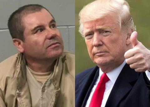 Así serviría Donald Trump a la defensa del Chapo en audiencia