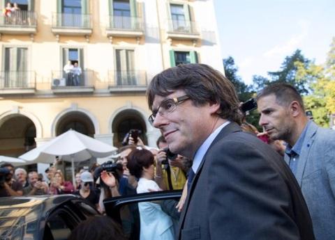 Puigdemont no irá ante el juez en España: abogado