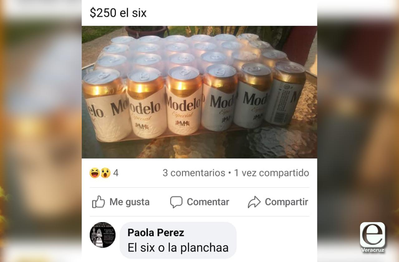 Ayer abarrotaron depósitos, hoy revenden cerveza en Coatza