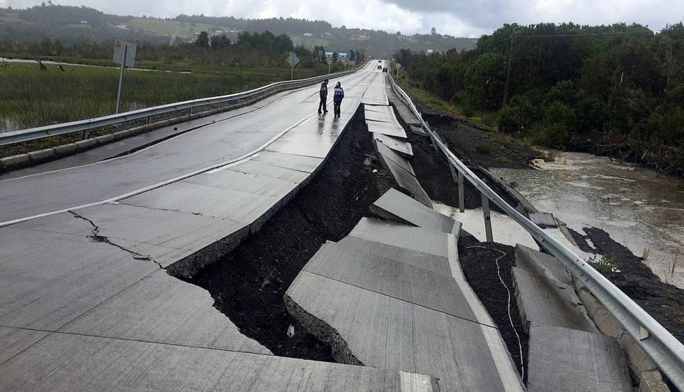 Terremoto sacude el sur de Chile; emiten alerta de tsunami