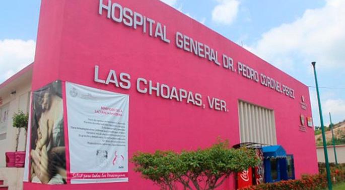 Balean a joven y lo ingresan a hospital de Las Choapas