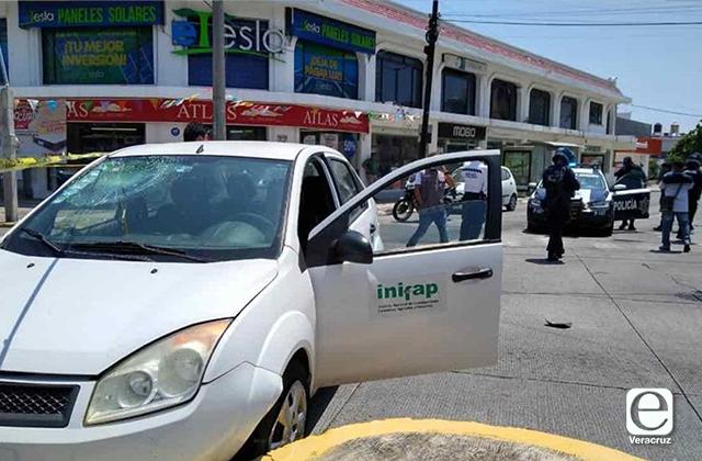 En choque contra vehículo oficial; muere motociclista en el Puerto