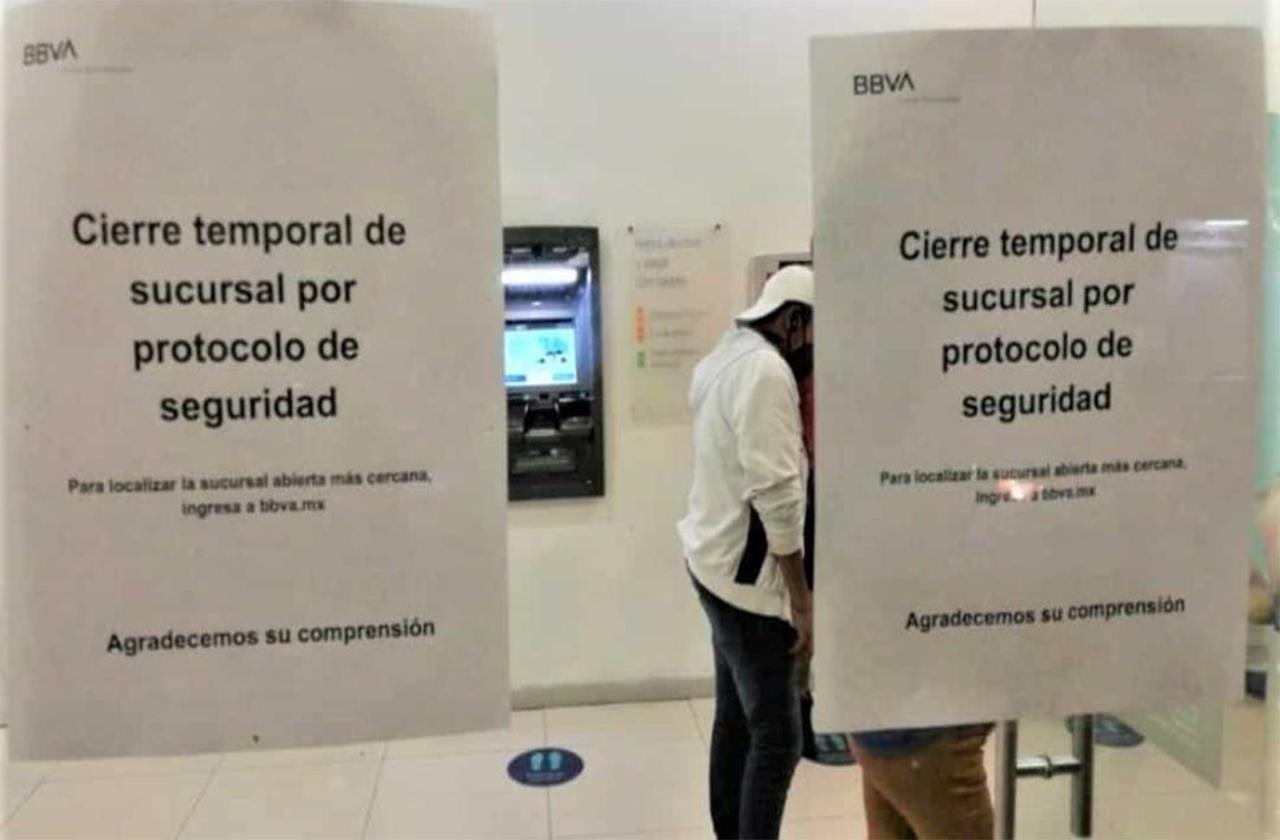 Por nueva ola, banco de Orizaba cierra hasta nuevo aviso