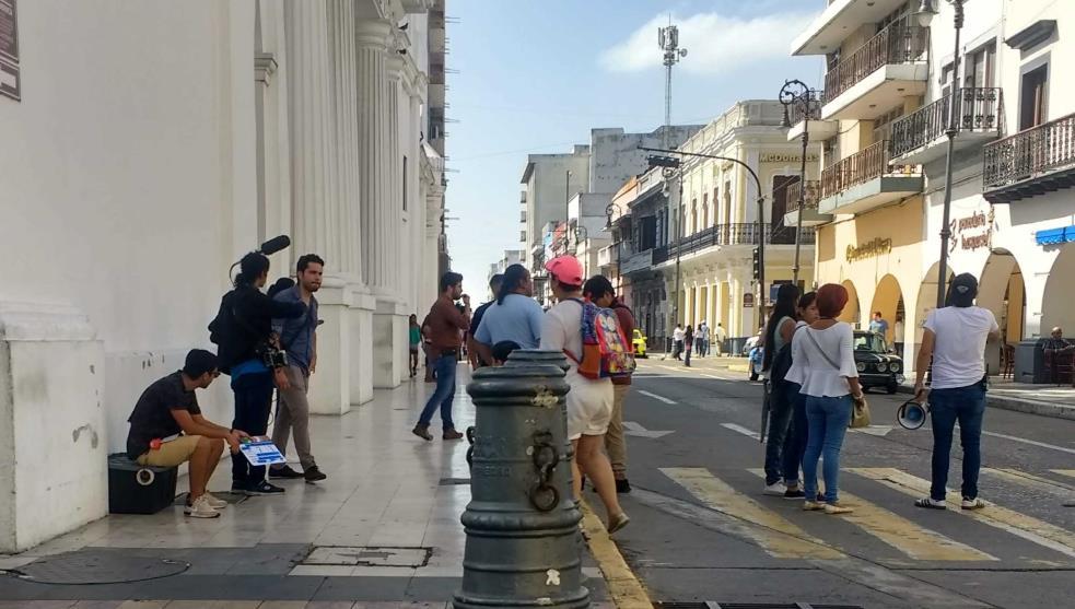 Hacen cine en Veracruz, a contracorriente
