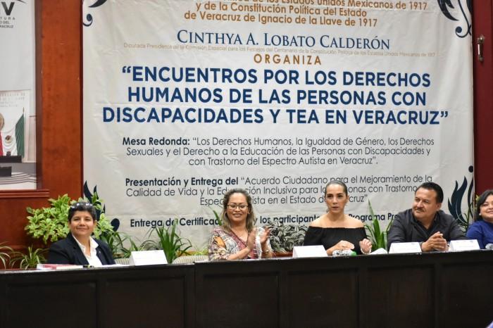 Cinthya Lobato gestionará recursos para personas con discapacidad y TEA