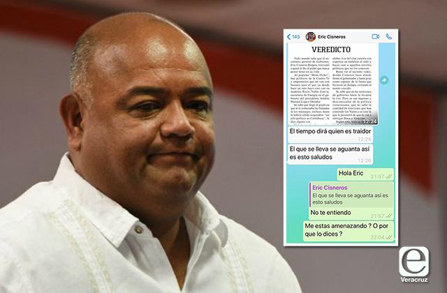 """Da Cisneros otra advertencia a medios: """"el que se lleva se aguanta"""""""