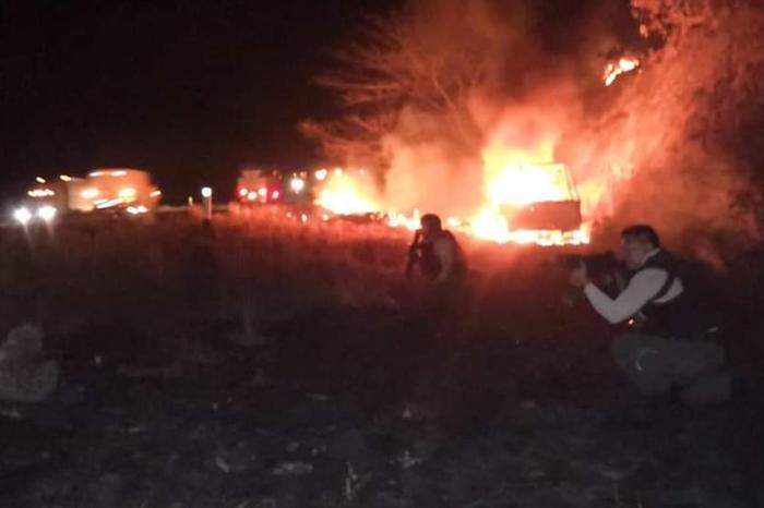 Noche violenta en Tierra Blanca; CJNG embosca y causa bajas a gobierno