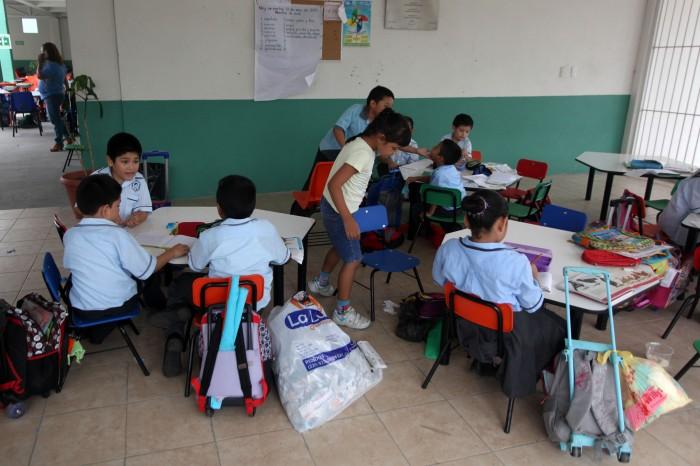 Suspenden clases en la zona norte de Veracruz ante arribo de Katia