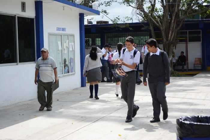 Modifican horarios de entrada en escuelas por inseguridad
