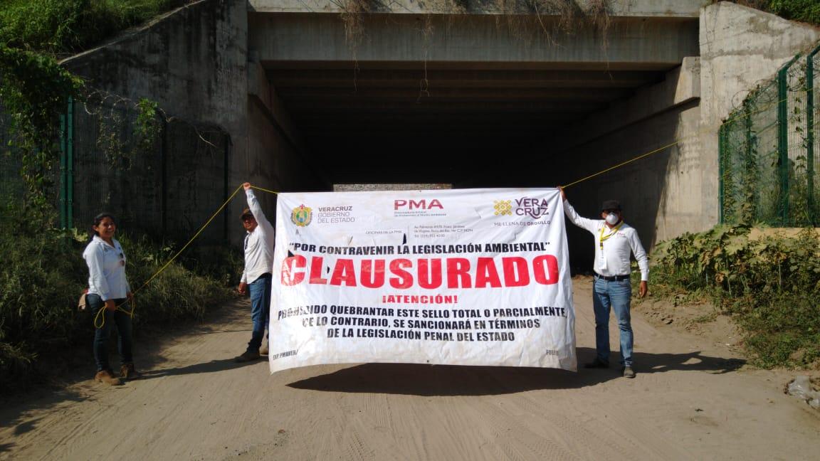 PMA clausuró relleno sanitario de Veracruz