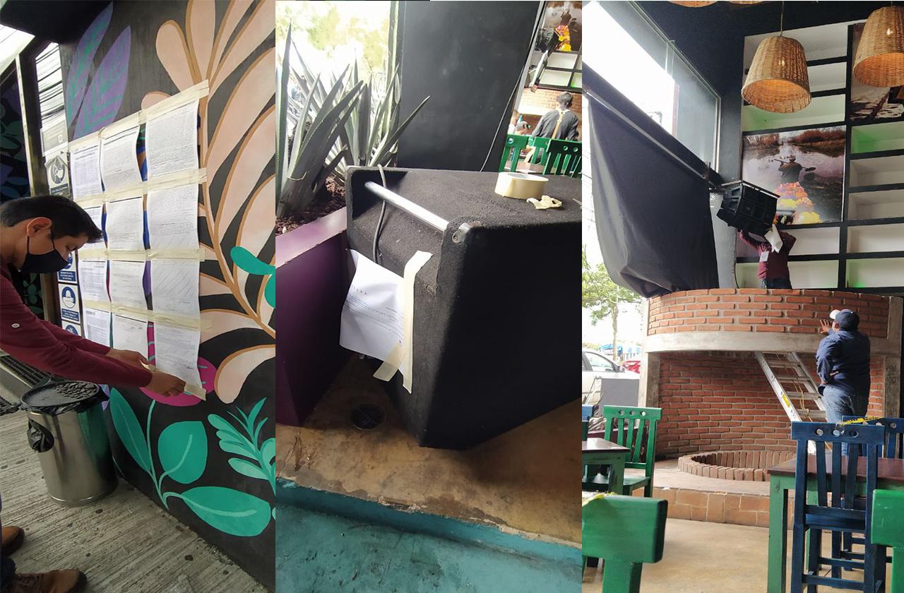 Por ruidoso, clausuran bocinas y multan bar de Xalapa