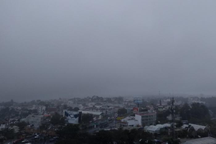 Esperan lluvias, niebla y evento de norte para Veracruz esta semana