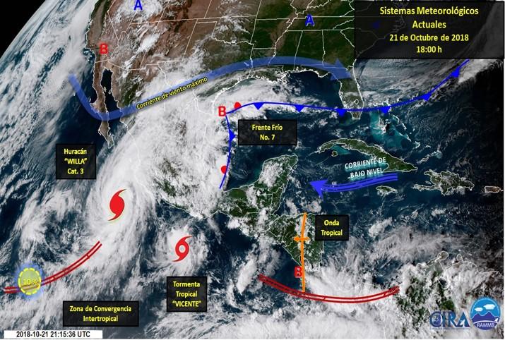 Lluvias no cesarán durante esta semana en Veracruz