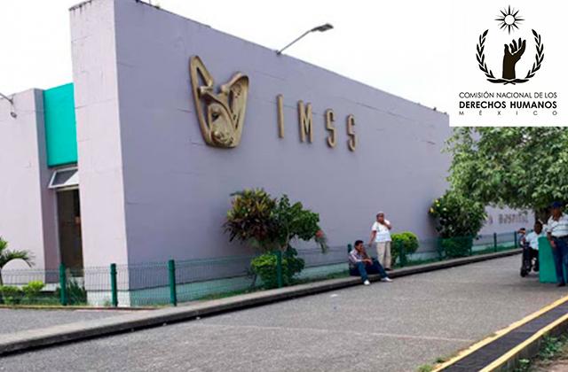 CNDH denunciarán a 7 trabajadores del IMSS Poza Rica