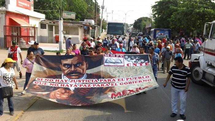 Maestros son intimidados para no acudir a marchas de la CNTE