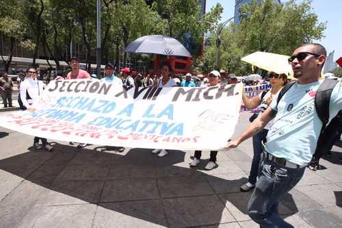 Rechaza la CNTE condición de Segob para reanudar diálogo