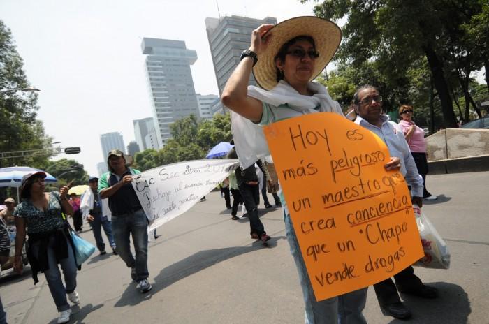 Listas 35 órdenes de aprehensión contra líderes de la CNTE