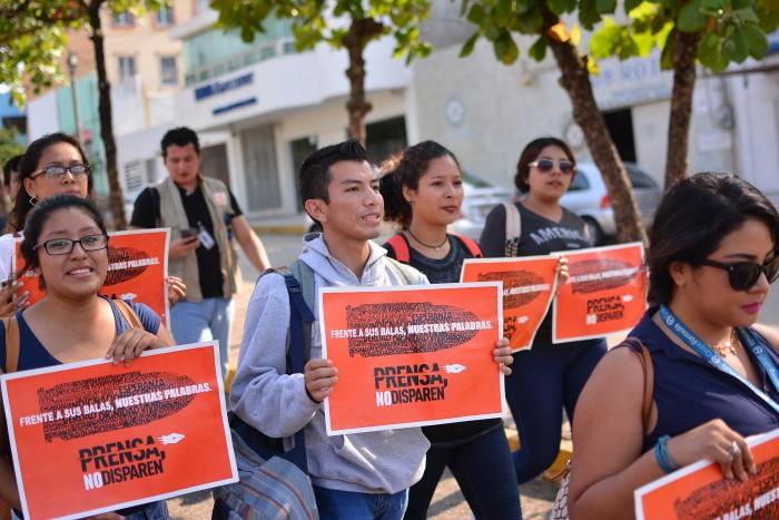 Periodistas veracruzanos exigen respeto, garantías y justicia