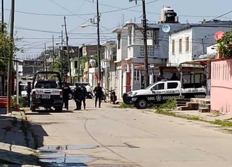Disparan contra jóvenes en Coatzacoalcos