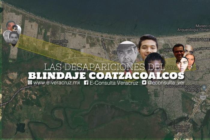 """""""Blindaje Coatzacoalcos"""" borró rastro de 11 jóvenes en 24 horas"""