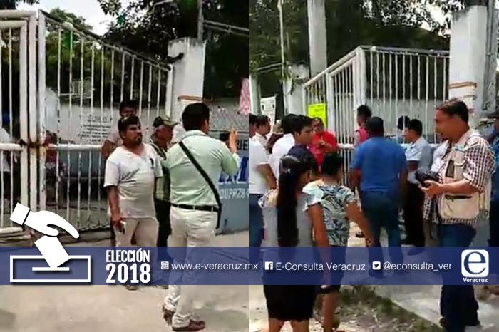 Sujetos armados intentan robar urnas en la zona norte de Veracruz