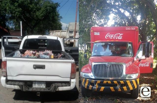 Rescatan a empleados de Coca-Cola que fueron plagiados