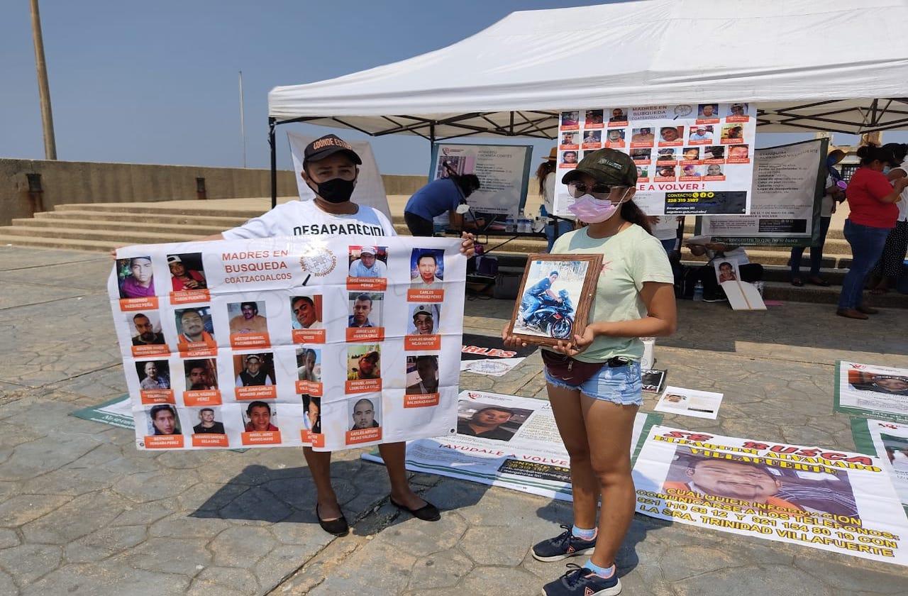 Colectivo de búsqueda retomará diligencias esta semana en Coatza