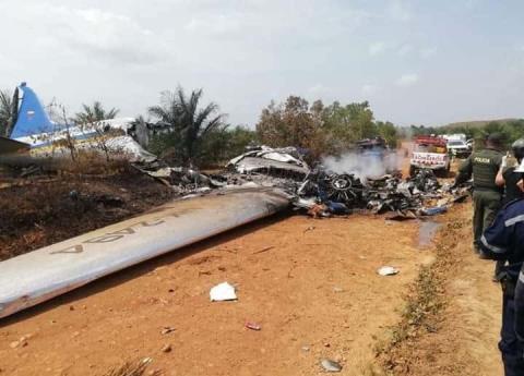 Avionazo en Colombia dejó 12 muertos