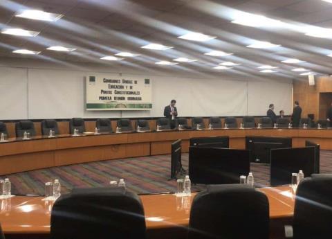 Otra vez, se suspende discusión de la reforma educativa de AMLO