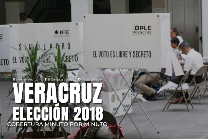 Minuto por minuto: conteo rápido da ventaja a Cuitláhuac García en Veracruz