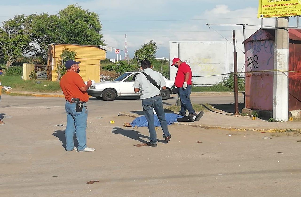A balazos, asesinan a comerciante de refacciones en Coatza