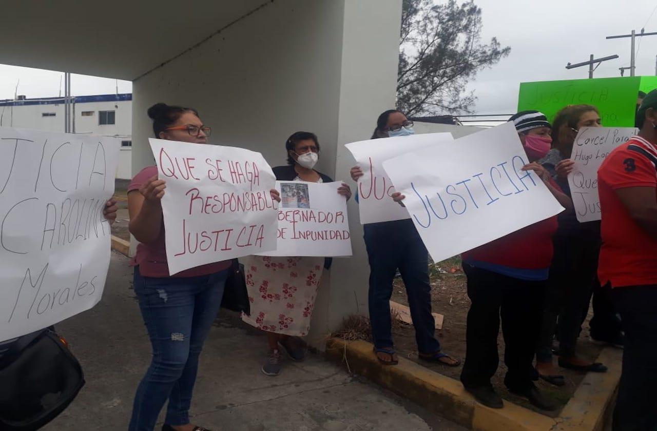 Con manifestación piden justicia para mujer atropellada en Veracruz