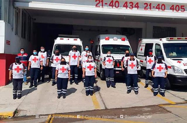Con números rojos, Cruz Roja Coatzacoalcos inicia colecta 2021