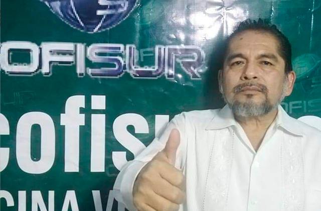Con orden de aprehensión, Pedro Martínez es candidato del PT en Coatza