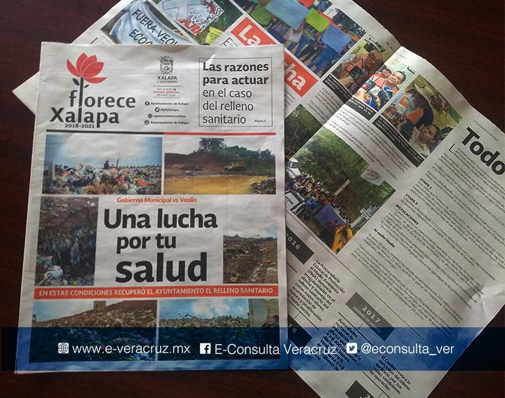 Hipólito admite gastar medio millón de pesos en periódico oficial