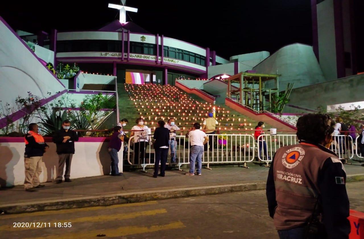 Concluye operativo guadalupano sin incidentes en Veracruz