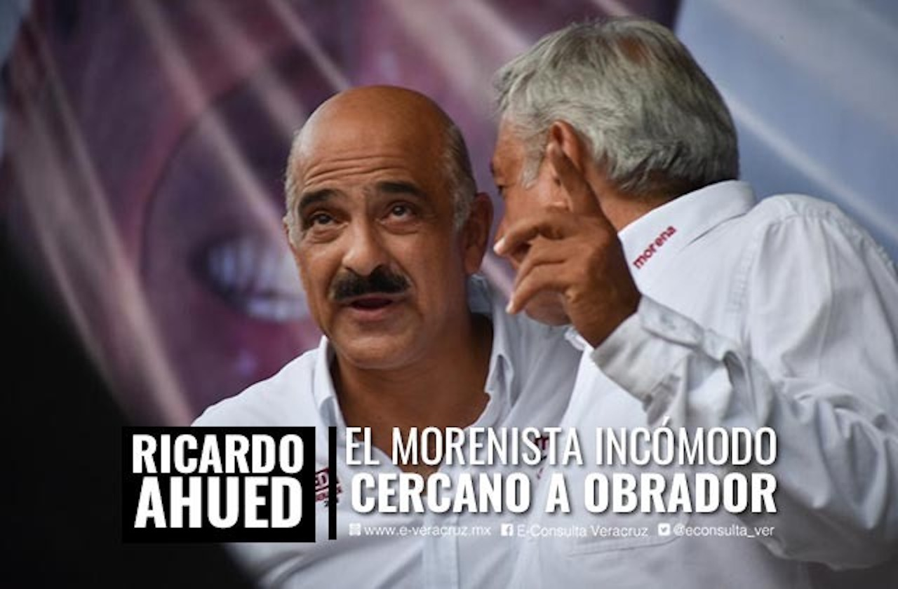 Confronta a la 4T: los desencuentros de Ricardo Ahued con Morena