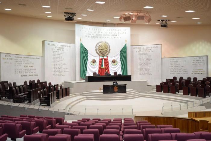 Listo el Palacio Legislativo para la toma de posesión de MAYL
