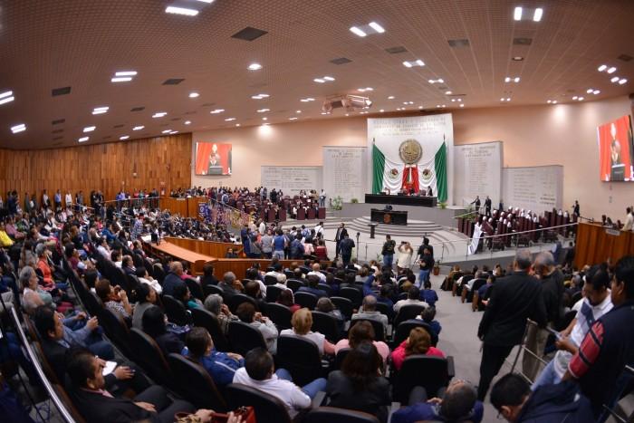 Congreso da entrada a Ley de Ingresos y Presupuesto de Egresos 2018