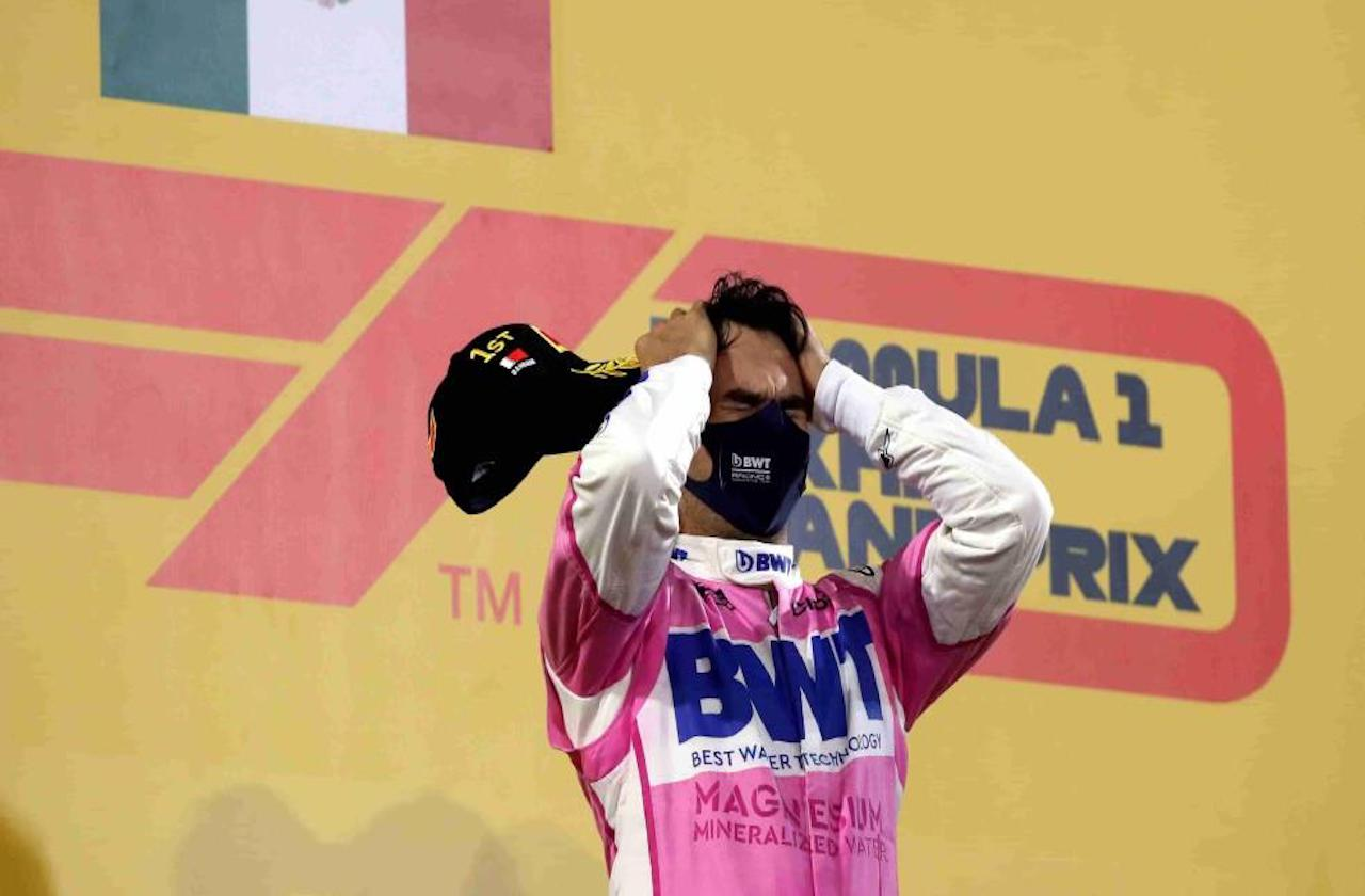 ¡Conmovedor!, así lloro Checo tras ganar la F1