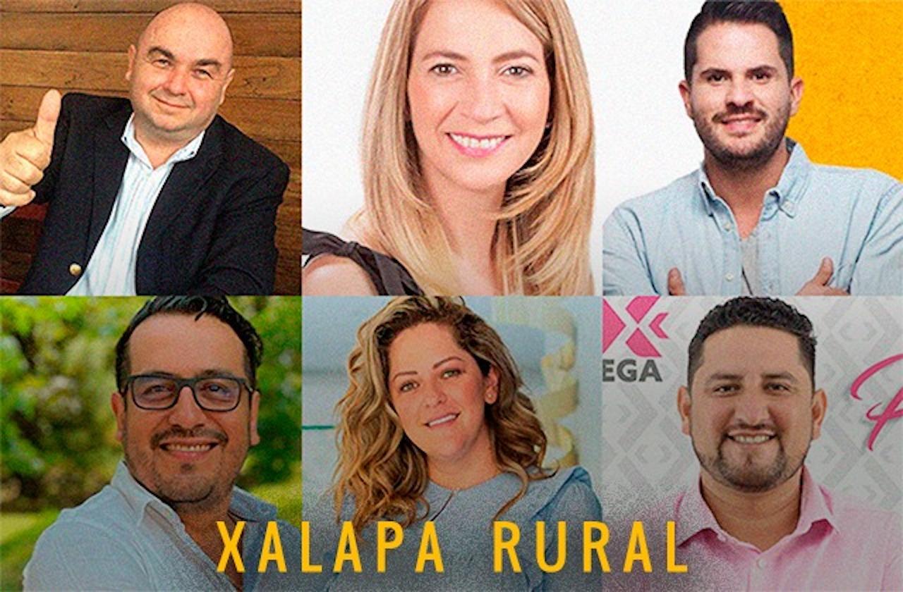 Conoce a los diez candidatos a diputados de Xalapa Rural