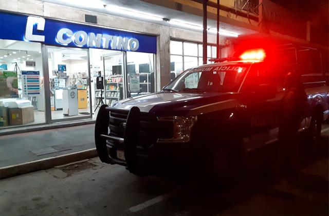 Sujetos armados asaltan tienda Contino en Centro del Puerto Veracruz