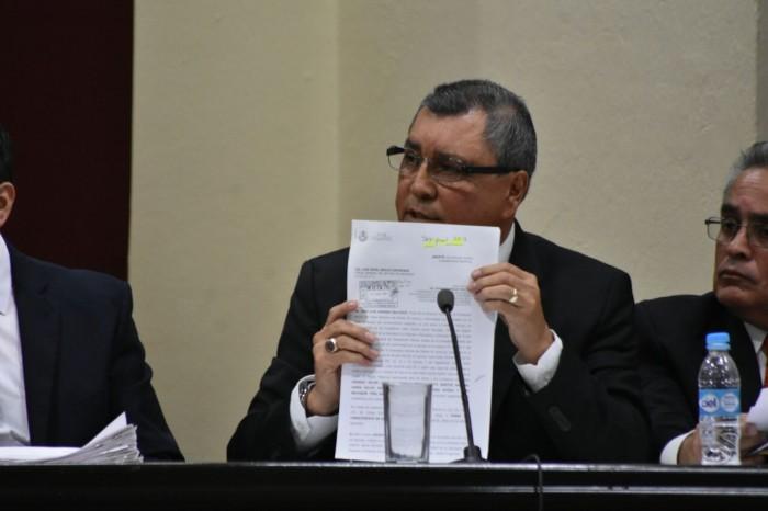Contraloría interpone denuncias penales por desfalco de recursos para obra