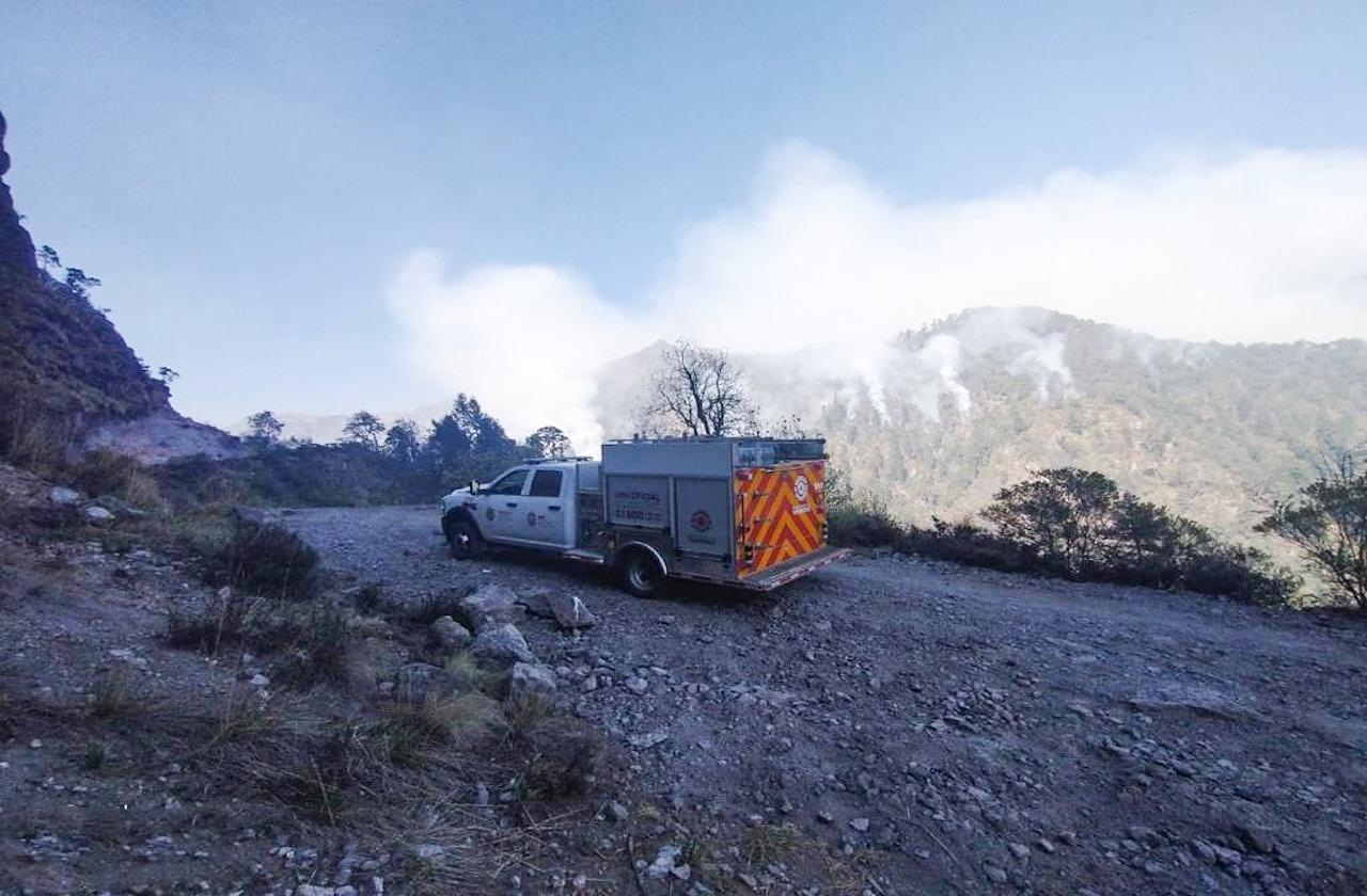 Controlan incendio en el Pico de Orizaba, sofocado al 50 %