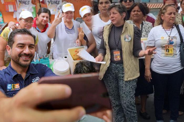 Yunes Márquez desaira a Colectivos de desaparecidos