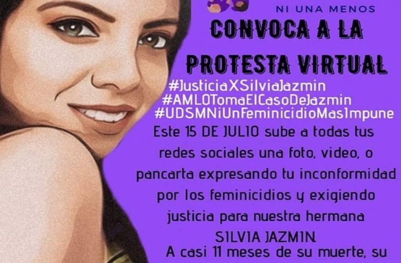 Convocan a protesta virtual por feminicidio en Minatitlán